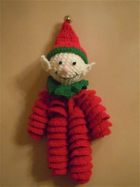 free pattern christmas elf crochet an elf 23 free patterns grandmother s pattern book