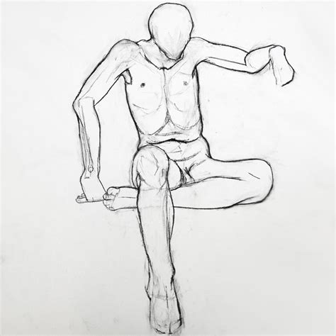 How To Draw A Sitting