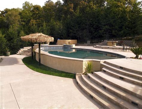 sloped backyard pool 28 best ideas about pools on pinterest decks pools and