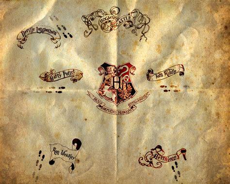 marauders map by human born on mars on deviantart