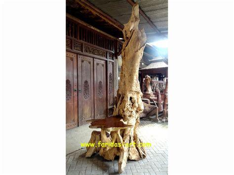 Jual Meja Akar Kayu Jati jual furniture akar kayu jati erosi gembol meja telepon