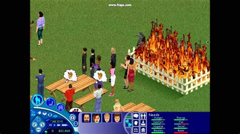 In The 1 the sims 1