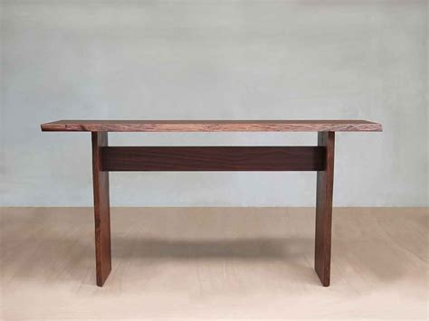 Live Edge Slab Sofa Table Rosita Walnut Masaya Co Live Edge Sofa Table