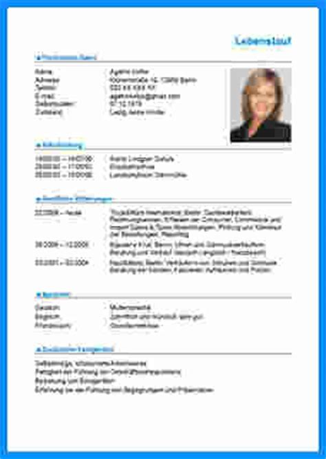 Lebenslauf Vorlage Word Business 7 Lebenslauf Muster Word Business Template