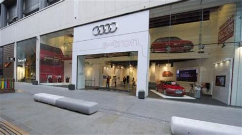 Shops Audi by Audi Opens Pop Up Store In London Shopping Centre To