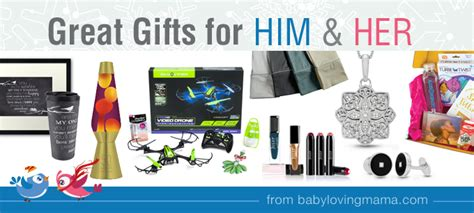 amazing gifts for her great gifts for him and her holiday gift guide round up