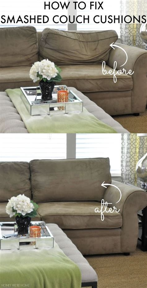 how to revive couch cushions how to fix smashed couch cushions upholstery living