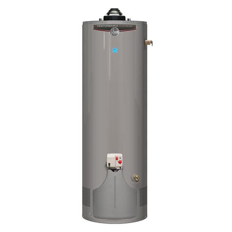 Water Heater Gas Niko rheem performance platinum 50 gal 12 year 36 000 btu energy ultra low nox gas
