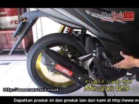 Yamaha Aerox 155 Knalpot R9 Alpha Series Black vario 150 esp akrapovic doovi