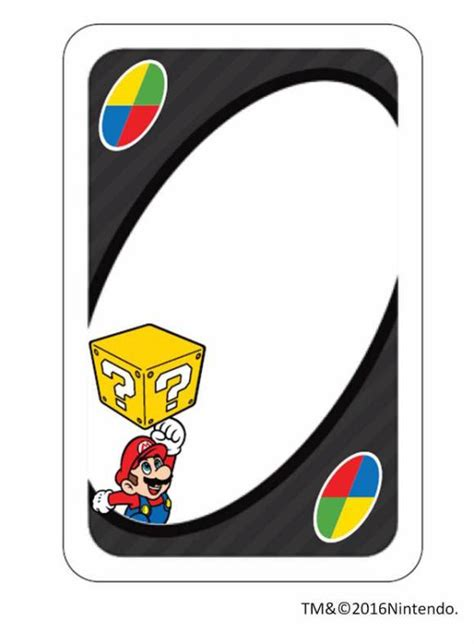Blank Uno Card