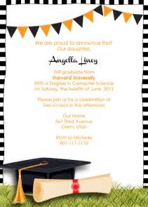 graduation invitation template