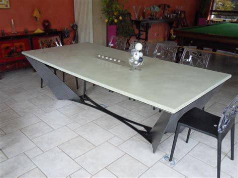 Table Beton Cire Exterieur 3584 by Table Beton Cire Le Site Des Tables En B 233 Ton Cir 233