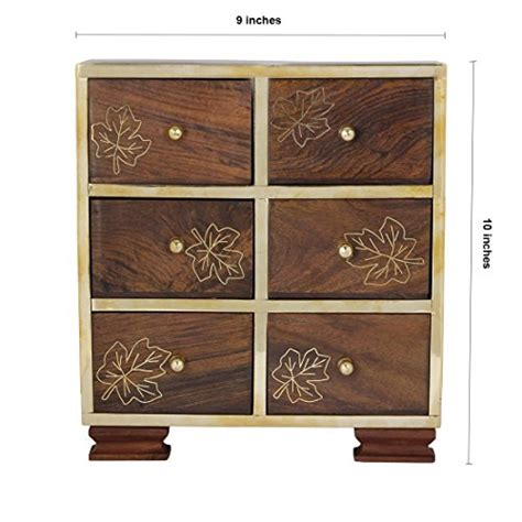 small jewelry armoire small decorative 6 drawers chest shape wall standing