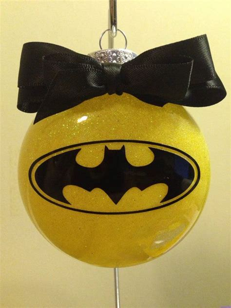 really cool batman ornaments by craftycuts4you on etsy