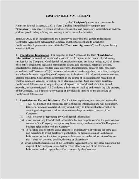 privacy contract template privacy agreement images