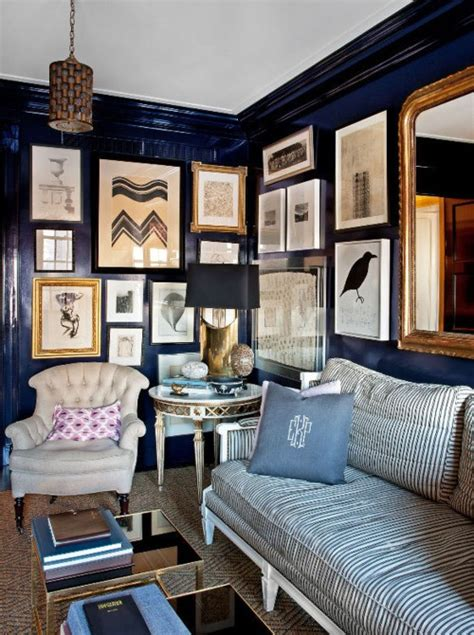 Navy Blue Room by Navy Blue Paint Colors Interiors B A S