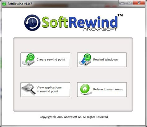 softrewind home edition access restriction software for pc