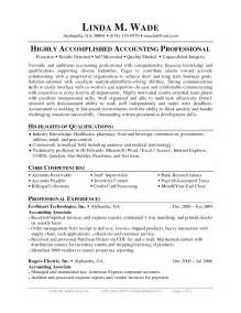 Sle Accounts Payable Resume by Accounts Payable Manager Cover Letter Exles