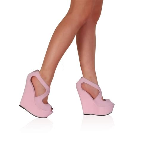 womens peep toe evening platform high heel