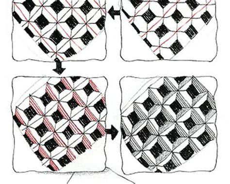 zentangle pattern cubine news from zentangle