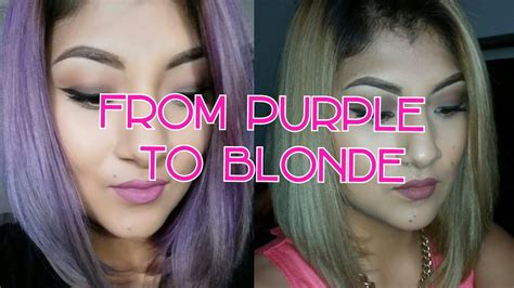 how to get pink color out of hair how to remove purple from hair kmanzo01