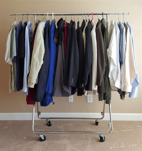 portable clothes rack pop up assembly in seconds