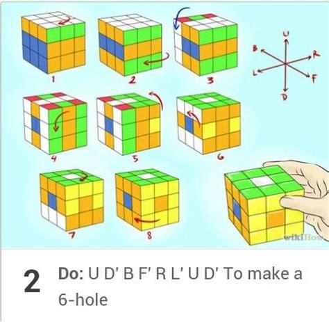 origami rubix cube armar rubik rubik