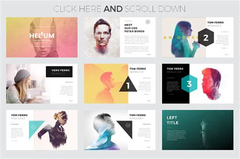 Creative Powerpoint Template 35 Free Ppt Pptx Potx Creative Project Presentations