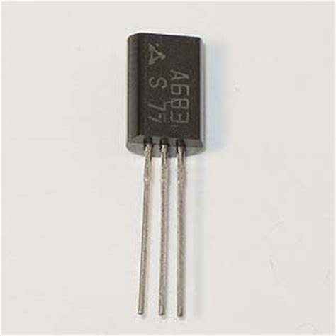 transistor lifier at low frequency electronic goldmine 2sa683 low frequency lifier transistor matsushita