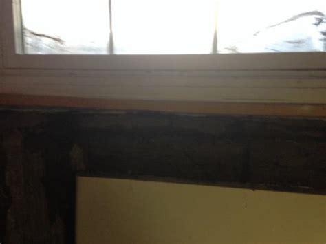 leaking basement window doityourself com community forums
