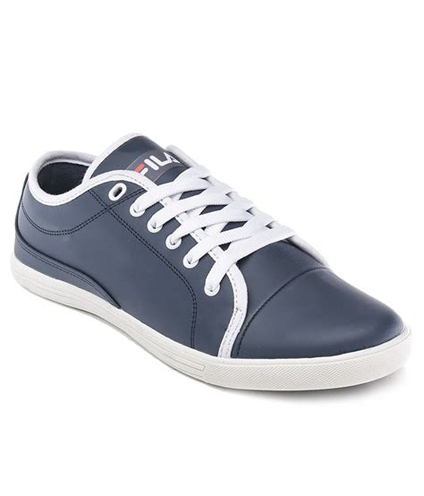 buy fila blue casual shoes for snapdeal