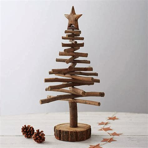 20 diy rustic decorations for christmas my list of lists