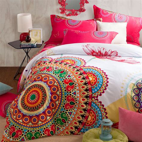 Bohemian Bedding Sets Brandream Boho Bedding Set Bohemian Duvet Covers Size 100 Cotton Bedding Ebay