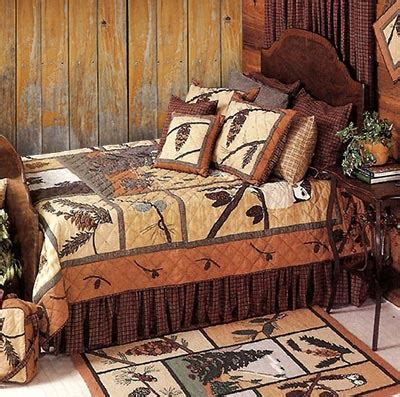 Pine Cone Bedding Set Pinecone Quilt Sets By Patch Magic Quilts