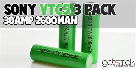Battery Sony Vtc 5 By Bagja Vapor batterie per dna30