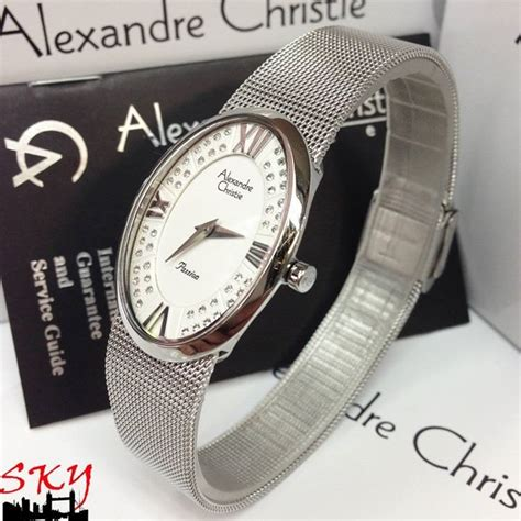 Jam Tangan Alexandre Christie Ac2456 Date Original 3 100 original jam tangan christie 2280
