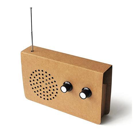 radio reciclable radio fm y altavoz de cart 243 n