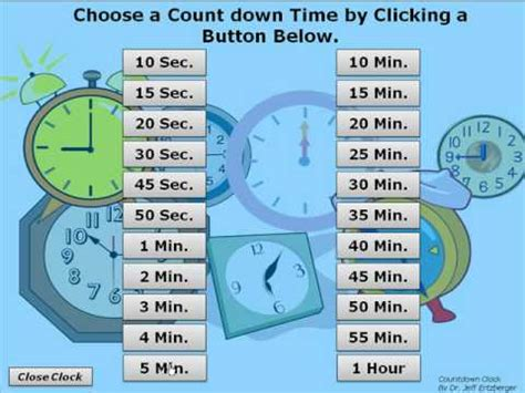 Powerpoint Timer Countdown Clock Youtube Countdown Timer For Ppt