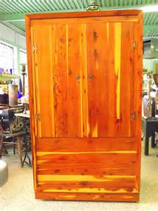 Vintage Desk Chair Swivel Wardrobe Closet Antique Cedar Wardrobe Closet
