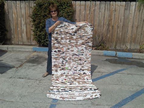 plarn mat for the homeless sewing dreams needlecraft