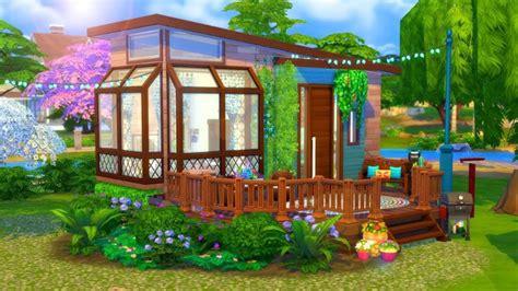 hippie tiny house sims  speed build sims  house