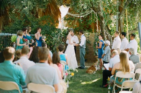 inexpensive backyard wedding budget backyard wedding rustic wedding chic