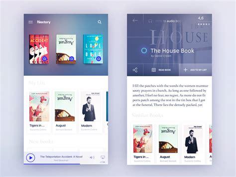 application design books books app concept by gleb kuznetsov dribbble