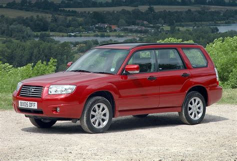 forester subaru 2002 subaru forester estate 2002 2008 features equipment
