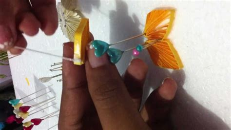 paper quilling tools tutorial diy easy paper quilling flower ii tutorial youtube