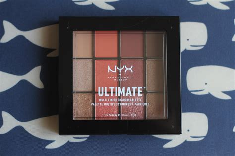 Nyx Ultimate product review nyx ultimate multi finish shadow palette