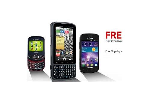free smartphone deals verizon