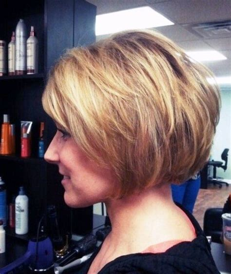 How To Add Volume To A Bob Cut | image detail for adding volume to short stacked bob
