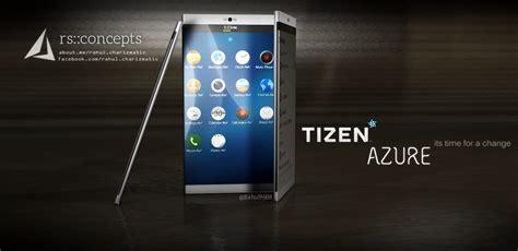 tizen azure concept phone has nikon lenses on its 16 mp