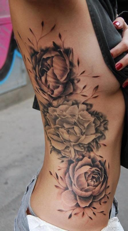 Tattoo On My Ribs | rib flowers tattoo my style pinterest